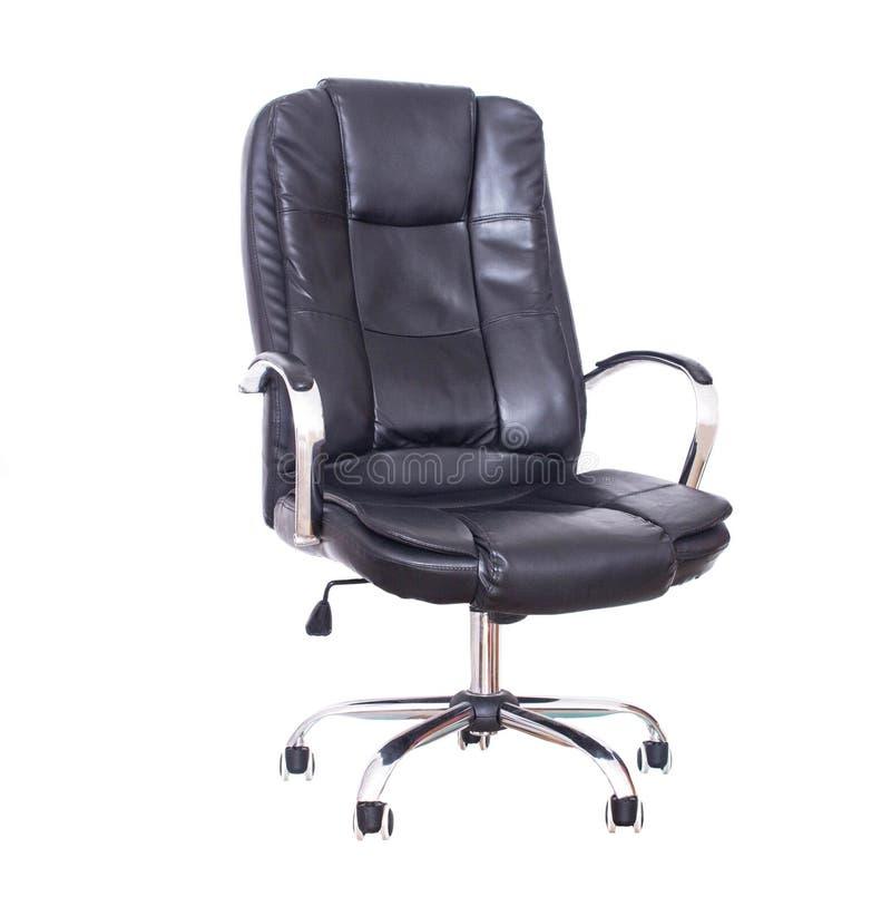 Nowy biurowy rzemienny wygodny krzes?o dla wykonawczych pozycji lub urz?dnicy Ortopedyczny krzes?o wspiera? plecy i zdjęcia royalty free