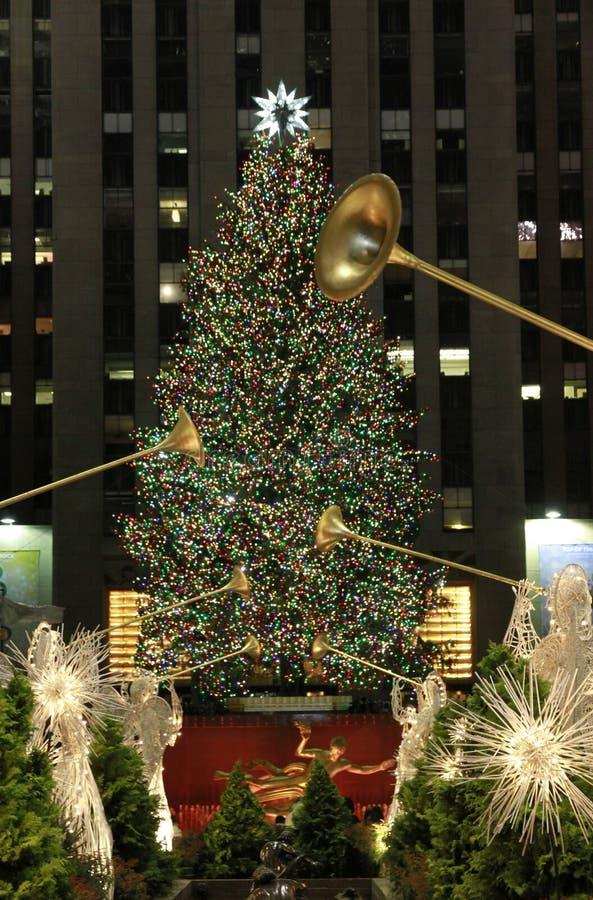 nowy Boże Narodzenie sezon York zdjęcie royalty free
