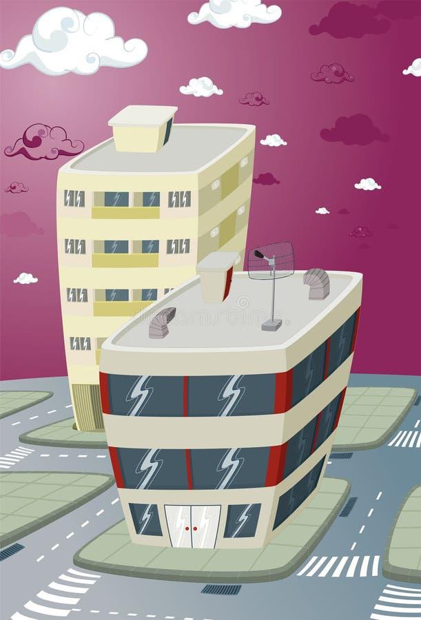 nowy budynku miasto obraz royalty free