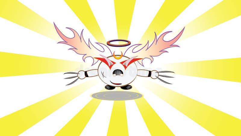 Download Nowy charakter ilustracja wektor. Ilustracja złożonej z komarnica - 41950596