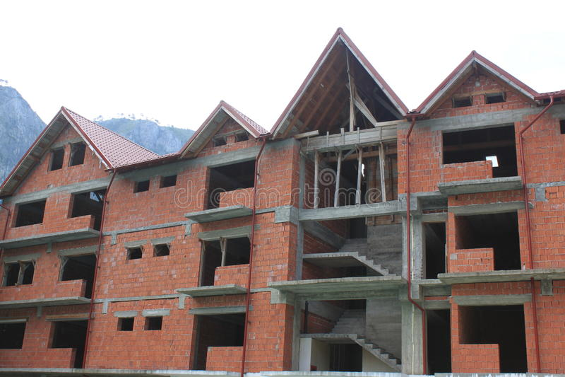 Nowy Dom W Budowie obrazy stock