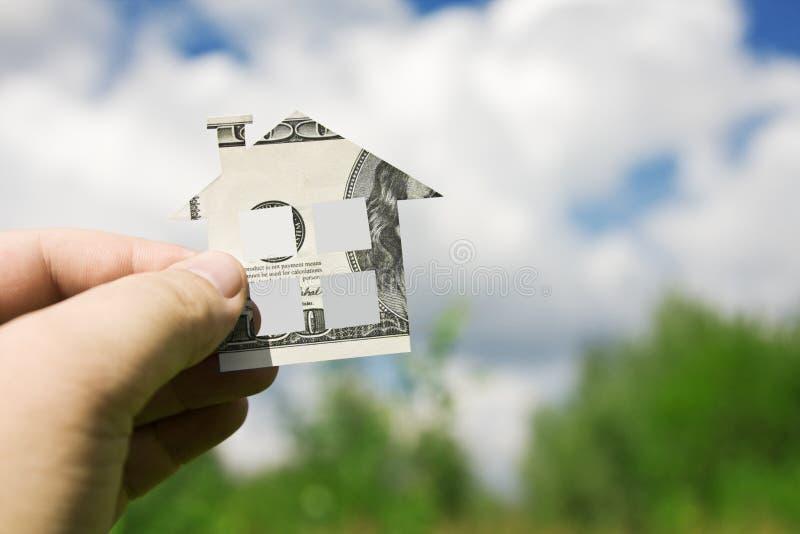 nowy domowy pieniądze zdjęcia stock