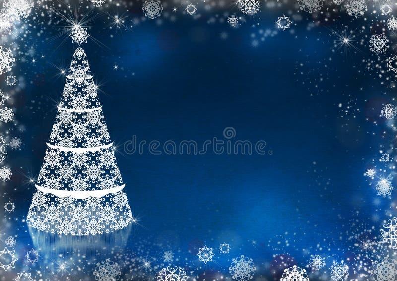 nowy drzewny rok royalty ilustracja