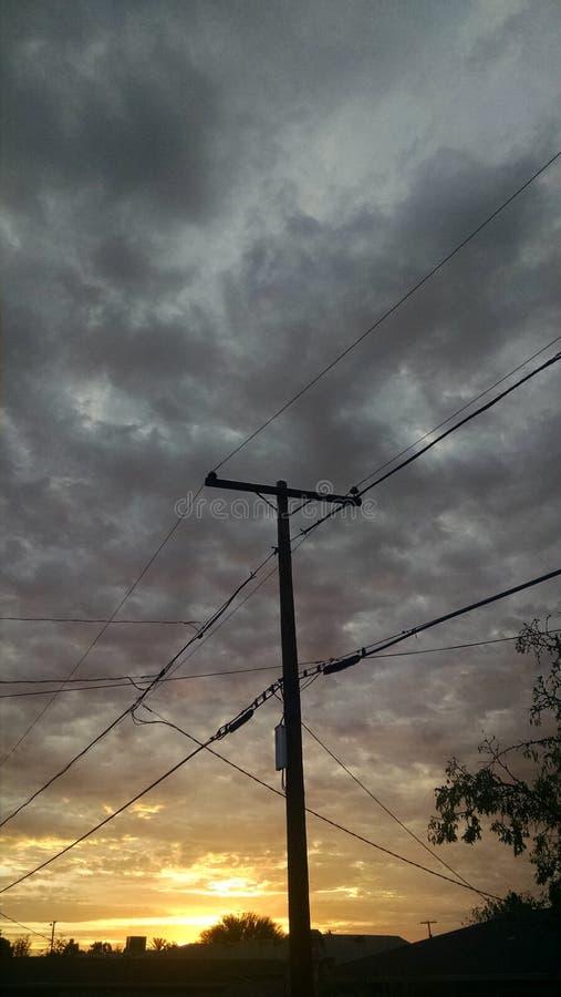 Nowy dzień ciemność fotografia royalty free