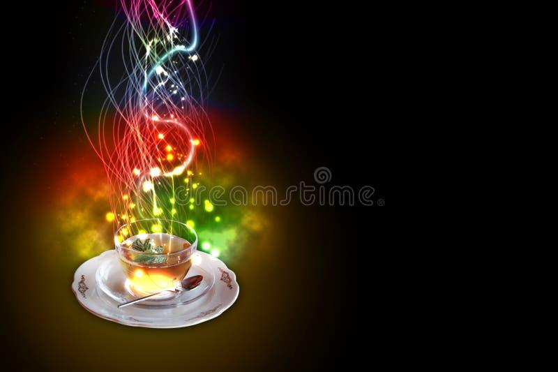 Nowy herbaciany środek wybuchowy zdjęcie royalty free