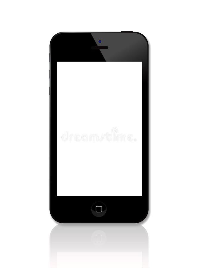 Nowy Jabłczany Iphone 5 royalty ilustracja