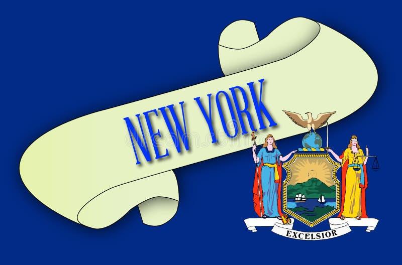 Nowy Jork ślimacznica ilustracji