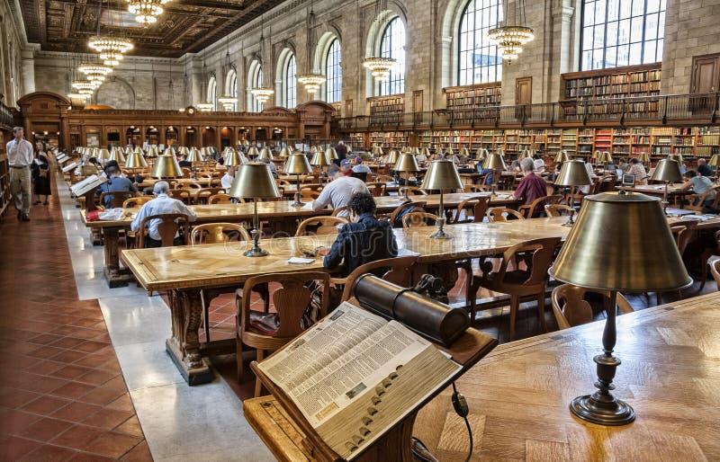Nowy Jork biblioteka publiczna fotografia royalty free