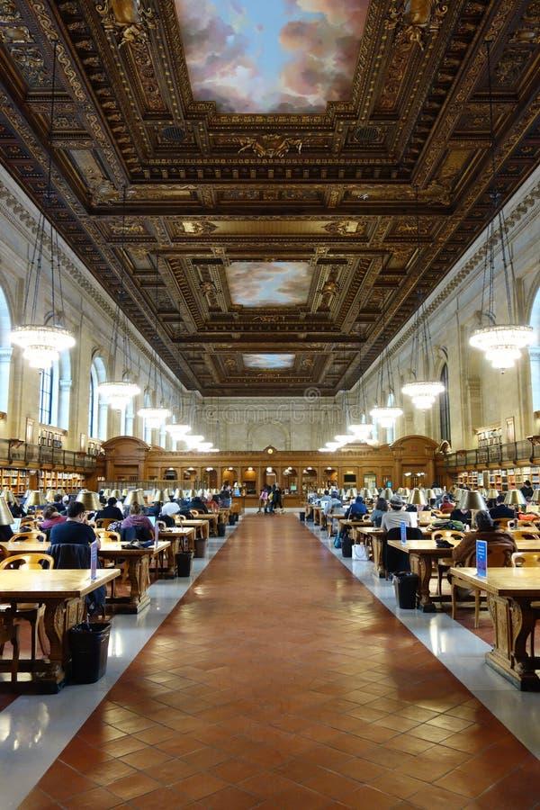Nowy Jork biblioteka publiczna obrazy royalty free