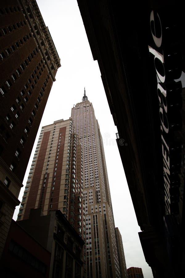 Nowy Jork, Czerwiec 19, 2012 - empire state building fotografia royalty free