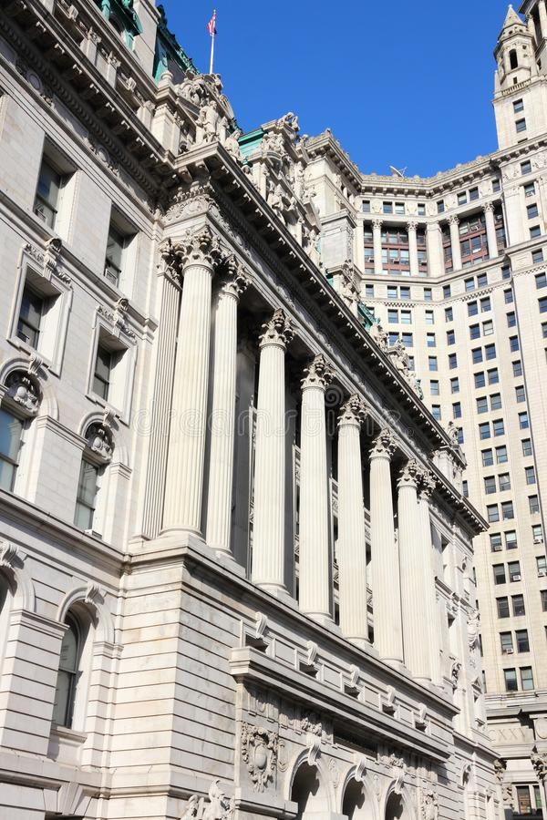Nowy Jork gmach sądu obrazy stock