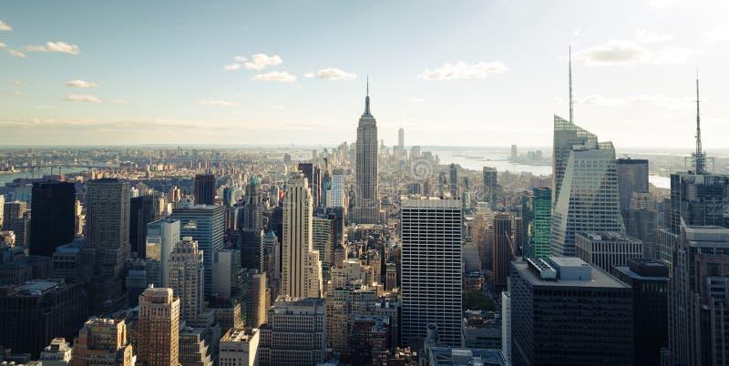 Nowy Jork linia horyzontu zdjęcie stock
