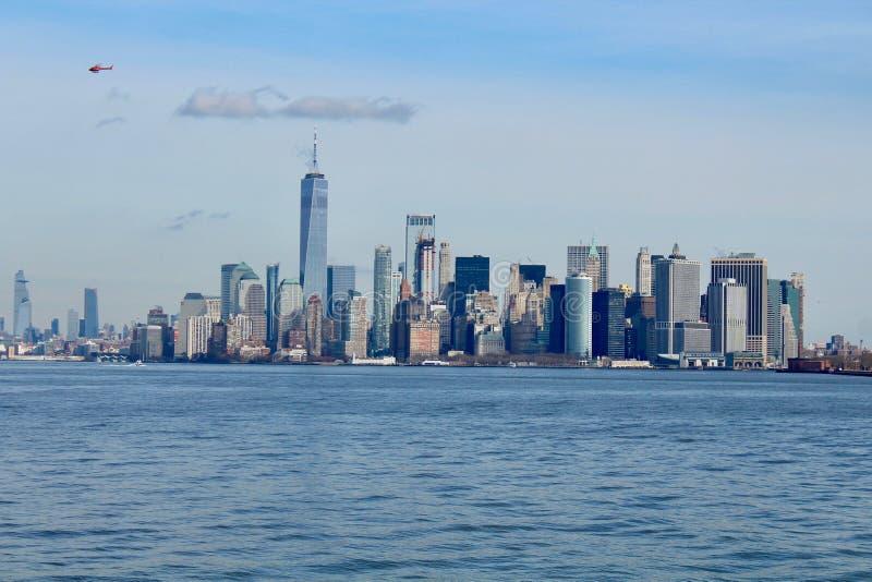 Nowy Jork linia horyzontu Manhattan NYC obrazy stock