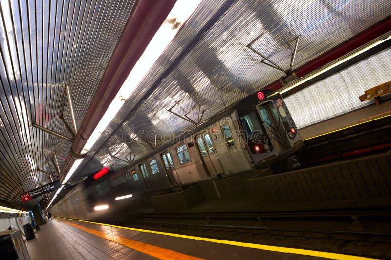 Nowy Jork metro zdjęcia stock