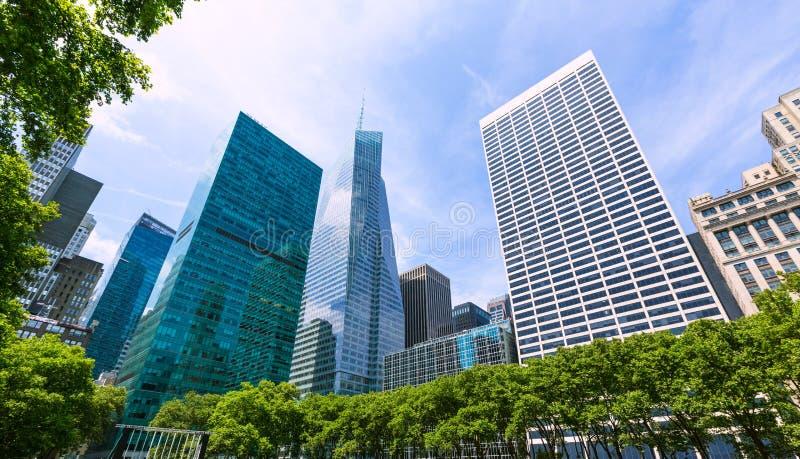 Nowy Jork miasta Manhattan Bryant park USA zdjęcia stock