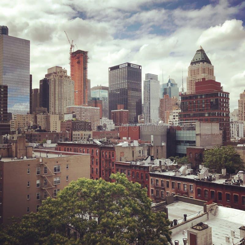 Nowy Jork miasto, Manhattan fotografia royalty free