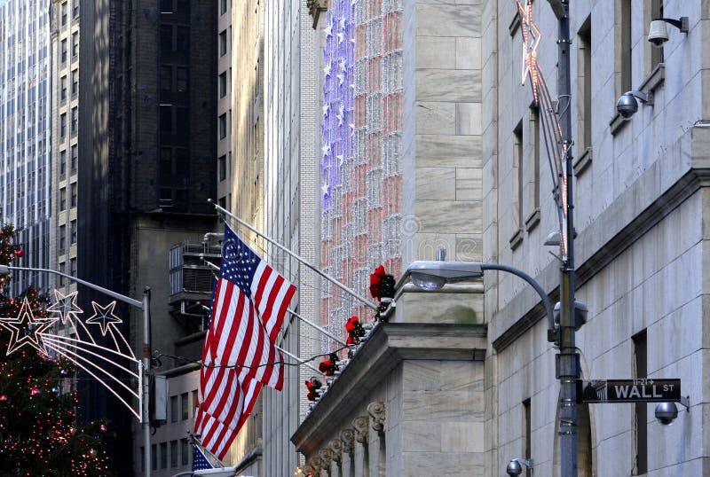 Nowy Jork Pieniężny okręg obraz royalty free
