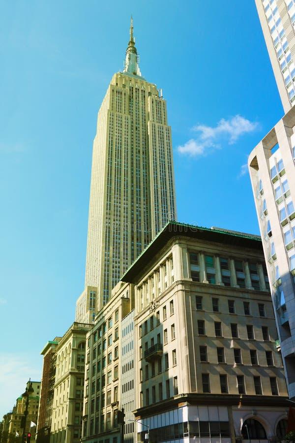 NOWY JORK, SIERPIEŃ - 25, 2018: Fasada Chrysler budynek, obrazująca na Marzec 12, 2010 w Nowy Jork obrazy royalty free