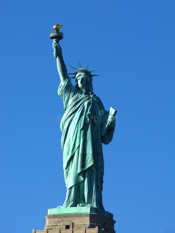 Nowy Jork: Statua Wolności, Amerykański symbol obraz royalty free