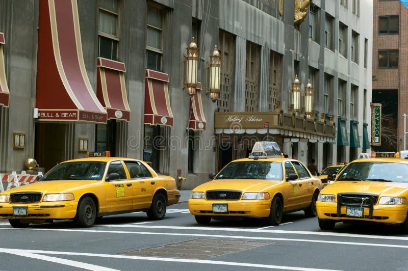 Nowy Jork taxi zdjęcie royalty free