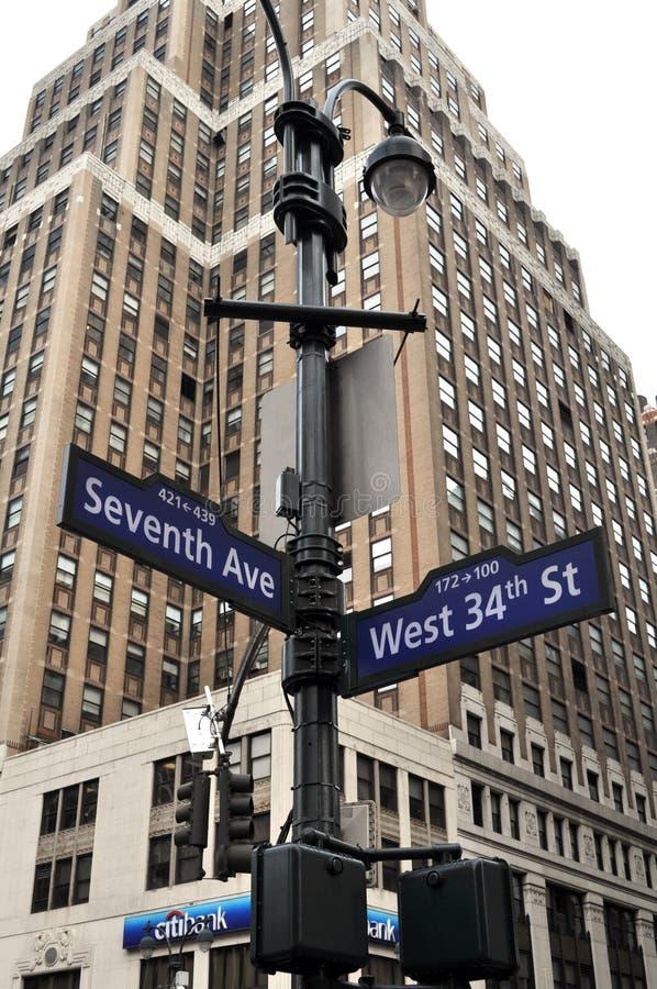 Nowy Jork ulica Śpiewa fotografia royalty free