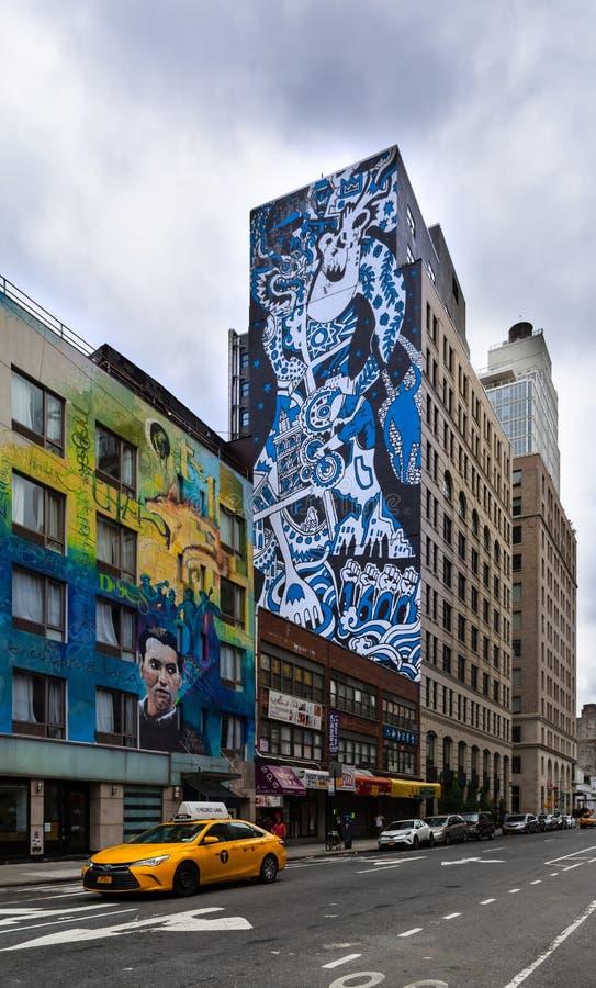Nowy Jork - Uliczna sztuka obraz stock