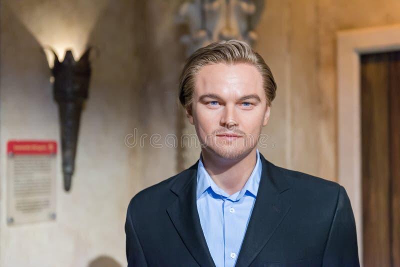 NOWY JORK, usa - WRZESIEŃ 27, 2013: Leonardo Dicaprio wosku postać obraz royalty free