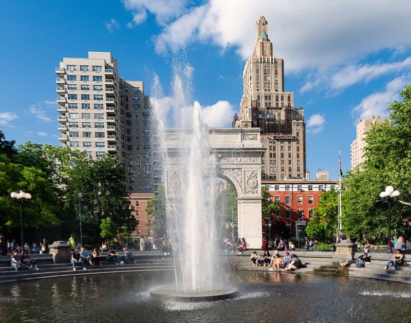 Nowy Jork, Waszyngton kwadrat - zdjęcie stock