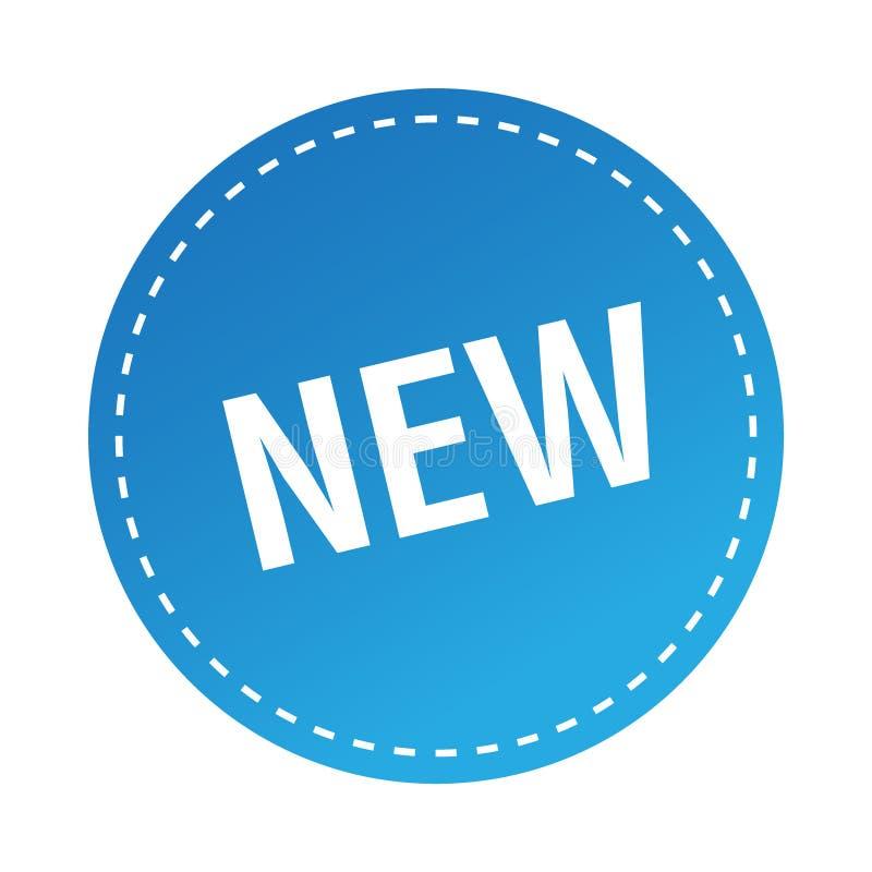 Nowy majcher, znaczek/ royalty ilustracja