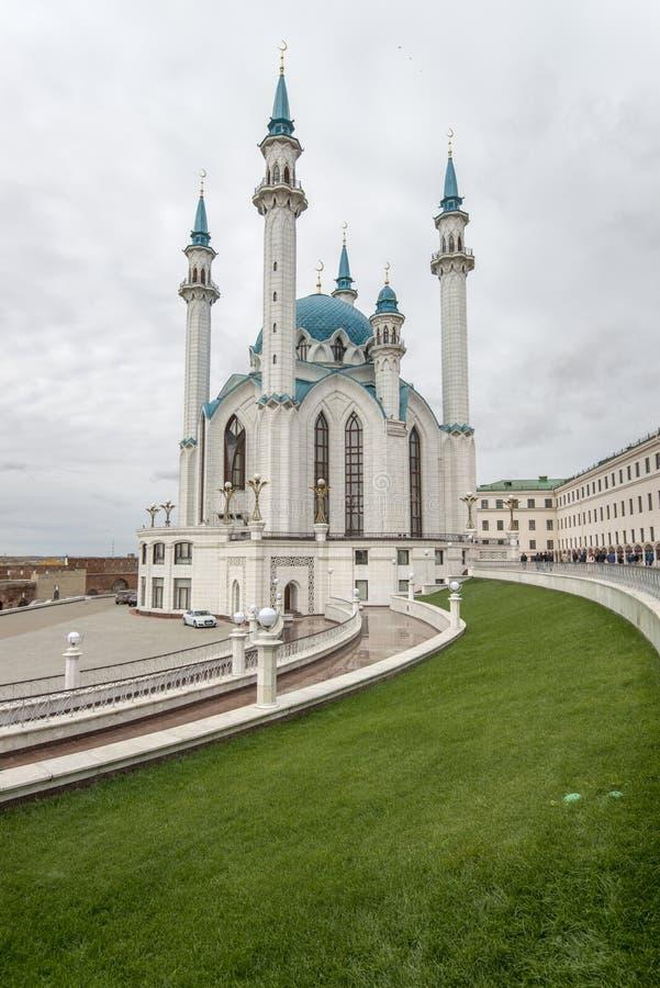 Nowy meczet w Kazan zdjęcie stock