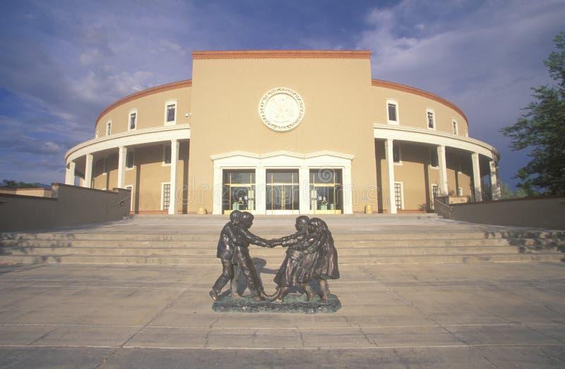 Nowy Meksyk stan Capitol, obraz stock