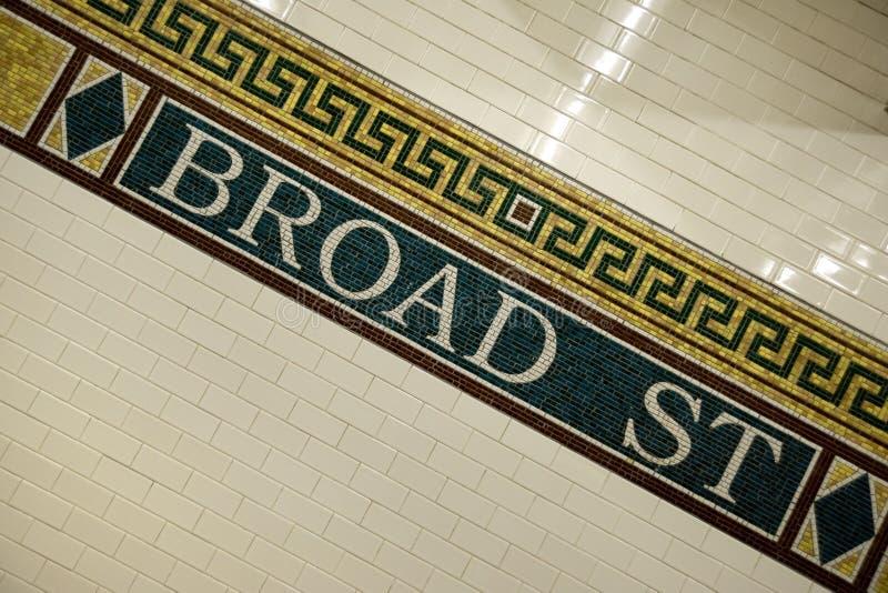 nowy metro York zdjęcia stock