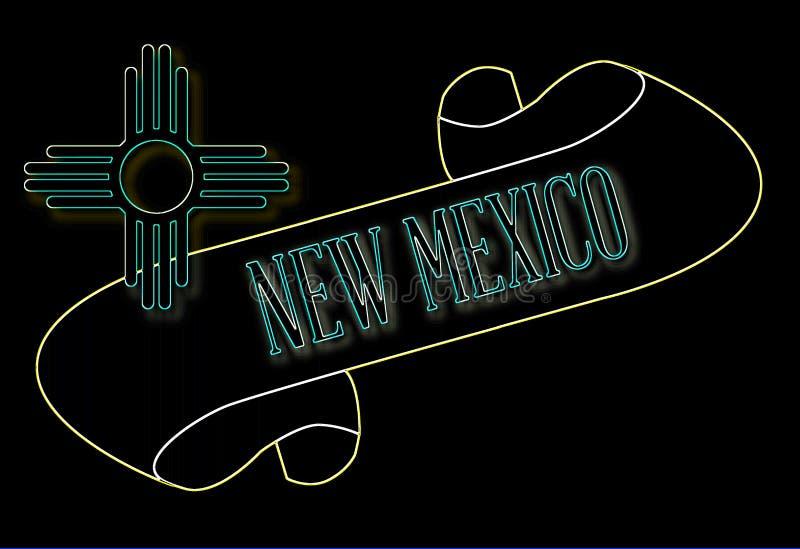 Nowy - Mexico ślimacznica royalty ilustracja