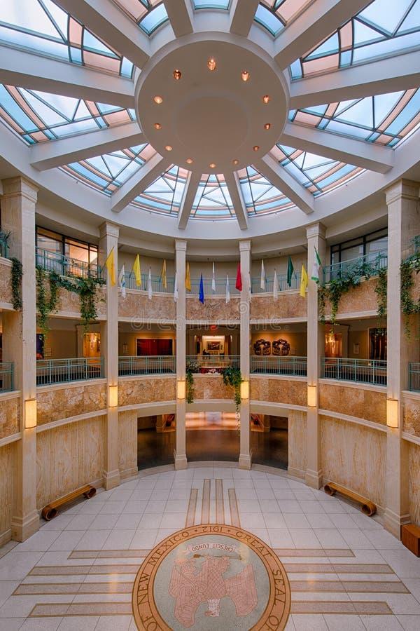 Nowy - Mexico stanu Capitol budynek obraz royalty free