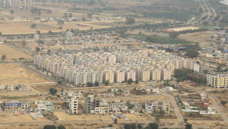 Nowy miasto r w India zdjęcia royalty free