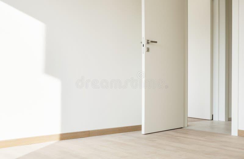 Download Nowy Mieszkanie, Szczegółu Pokój Obraz Stock - Obraz złożonej z podłoga, parquet: 28972315