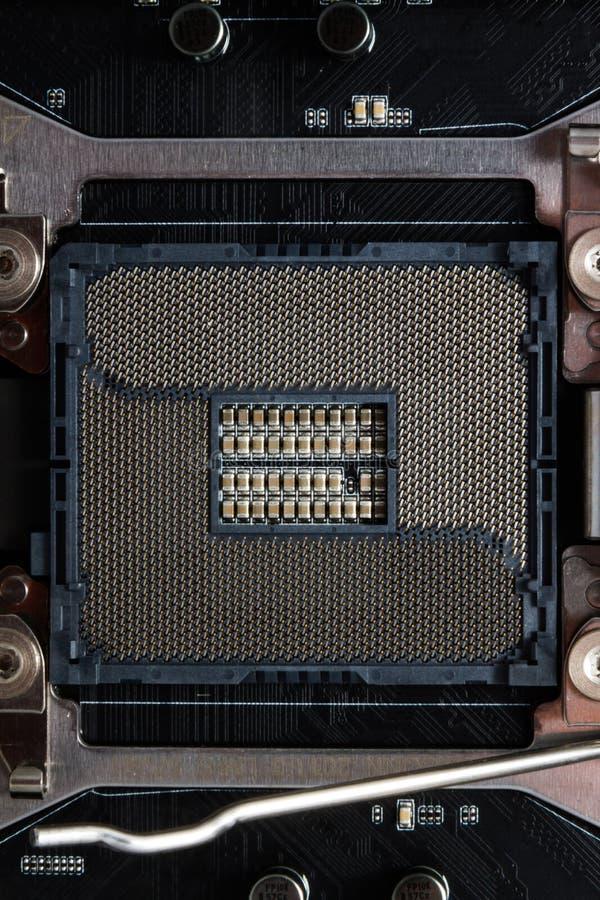 Nowy mikro układ scalony zdjęcia stock