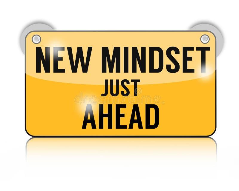 Nowy mindset właśnie naprzód zdjęcia stock