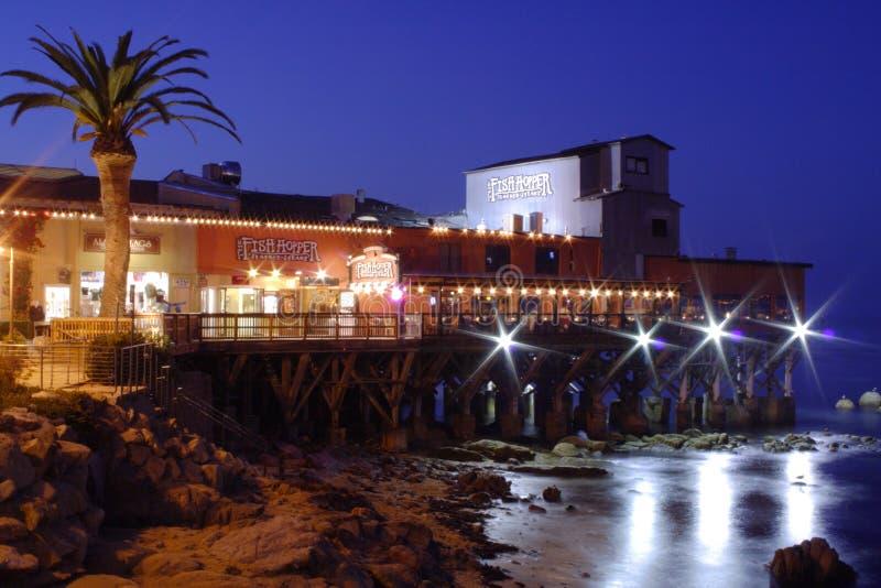 nowy Monterey molo fotografia stock