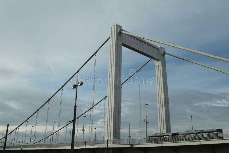 Nowy most w Budapest obrazy royalty free