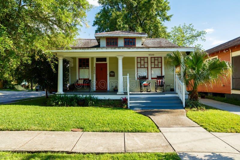 Nowy Orlean dom obrazy stock