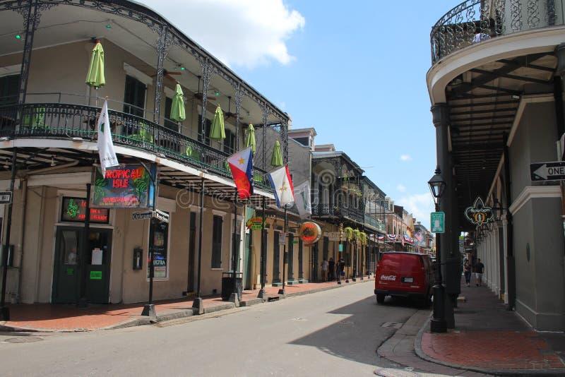 Nowy Orlean dzielnica francuska zdjęcia royalty free
