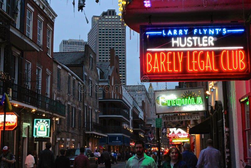 Nowy Orlean Hustler zdjęcie stock
