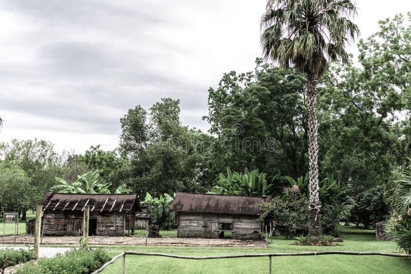 Nowy Orlean Laura plantacji kuchni Zewnętrznie ruiny zdjęcie royalty free