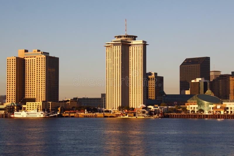 Nowy Orlean Nadrzeczny Ranek Światło obraz stock