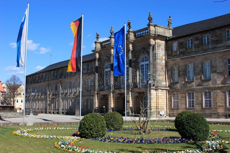 Nowy pałac Bayreuth fotografia royalty free
