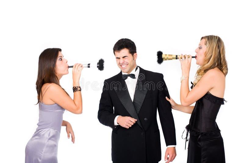 nowy partyjny rok zdjęcie royalty free