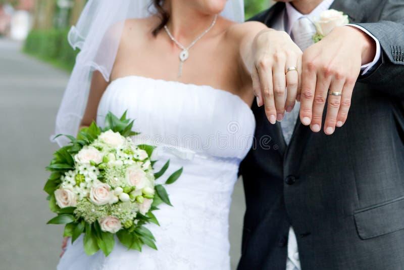 nowy pierścionek ich zdjęcia stock