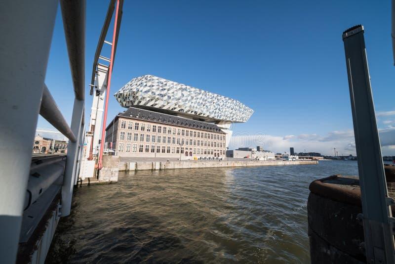 Nowy portu dom zdjęcie stock