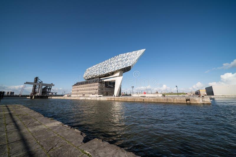 Nowy portu dom obrazy stock